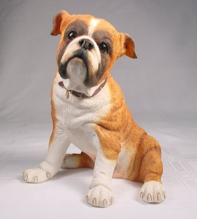 Bulldog, English - Figurine - Country Artists - Medium Dog