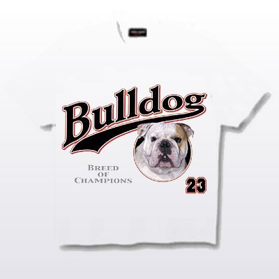 Bulldog, English - T Shirt - Breed of Champions