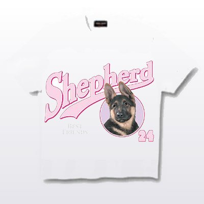 German Shepherd - T Shirt - Friends