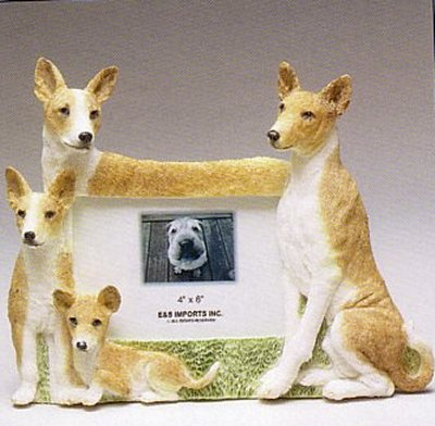 "Basenji - Dog Photo Frame 4"" x 6"""