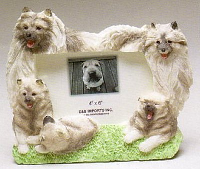 "Keeshond - Dog Photo Frame 4"" x 6"""