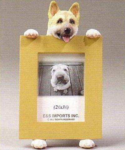 akita dog photo frame 2 12 x 3