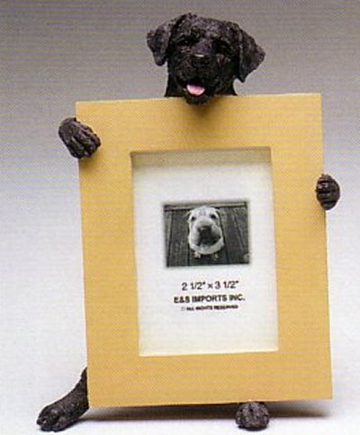 "Labrador, Black - Dog Photo Frame 2 1/2"" x 3 1/2"""