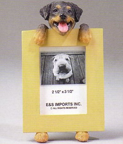 "Rottweiler - Dog Photo Frame 2 1/2"" x 3 1/2"""
