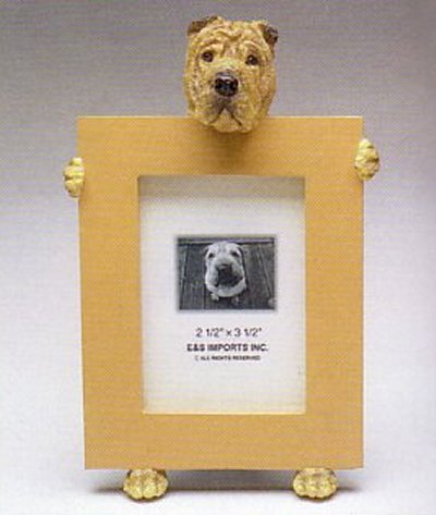 "Chinese Shar-Pei - Dog Photo Frame 2 1/2"" x 3 1/2"""