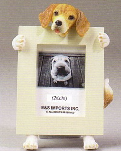 "Beagle - Dog Photo Frame 2 1/2"" x 3 1/2"""