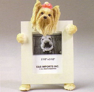 "Yorkshire Terrier - Dog Photo Frame 2 1/2"" x 3 1/2"""