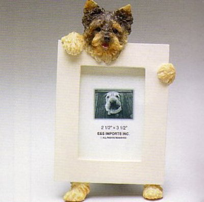 "Yorkshire Terrier - Dog Photo Frame 2 1/2"" x 3 1/2"" - Puppy Cut"