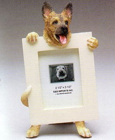 "German Shepherd - Dog Photo Frame 2 1/2"" x 3 1/2"""