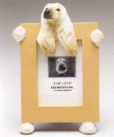 "Afghan Hound - Dog Photo Frame 2 1/2"" x 3 1/2"""