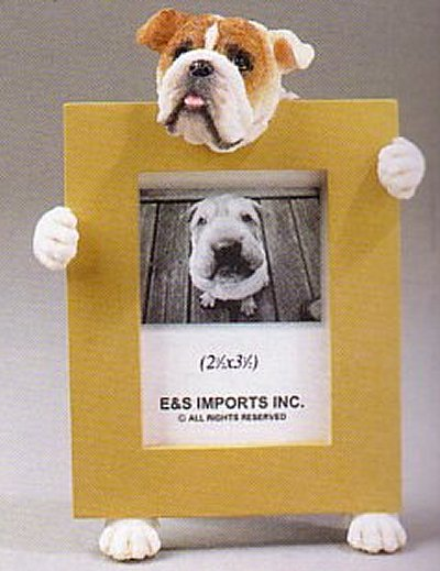 "Bulldog, English - Dog Photo Frame 2 1/2"" x 3 1/2"""