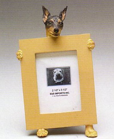 "Miniature Pinscher - Dog Photo Frame 2 1/2"" x 3 1/2"""