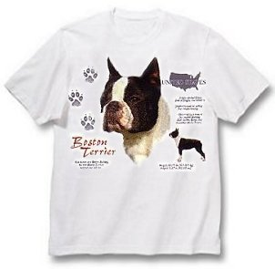 Boston Terrier - T Shirt - History