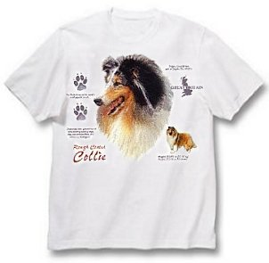Collie, Rough Coat - T Shirt - History