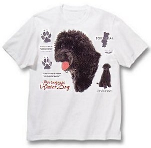 Portugese Water Dog - T Shirt - History