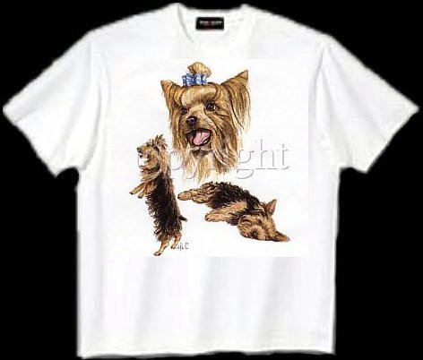 Yorkshire Terrier - T Shirt - Collage