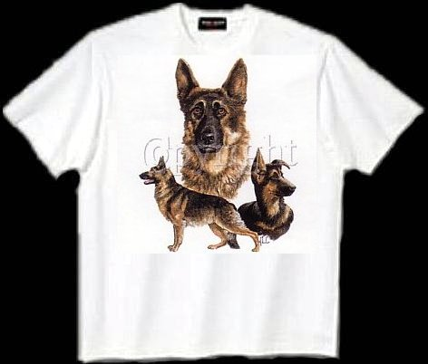 German Shepherd - T Shirt - Collage