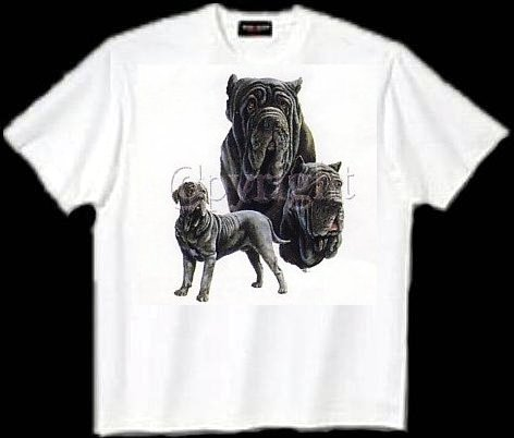 Mastiff, Neopolitian - T Shirt - Collage