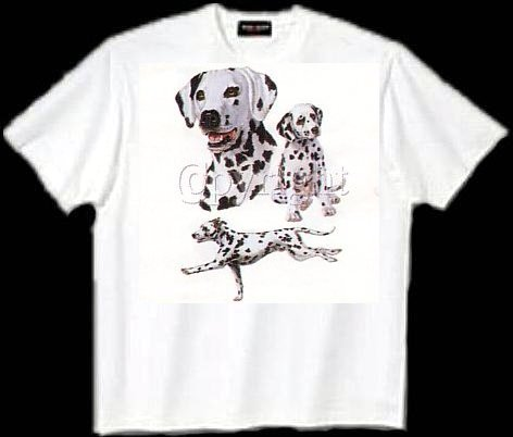 Dalmatian - T Shirt - Collage