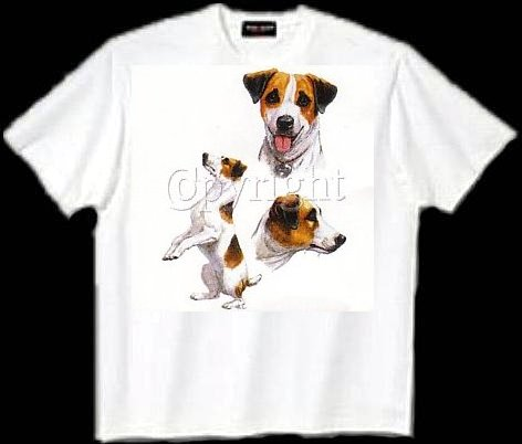 Jack Russell - T Shirt - Collage