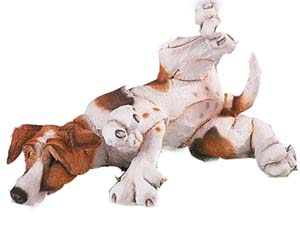 Jack Russell - Figurine - A Breed Apart - Laying