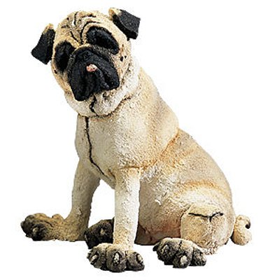 Pug, Fawn - Figurine - A Breed Apart - Mini