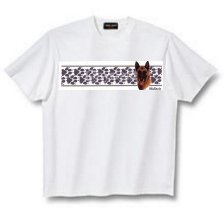 Belgian Malinois - T Shirt Paws & Stripes