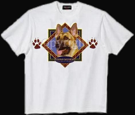 German Shepherd - T Shirt - Diamond
