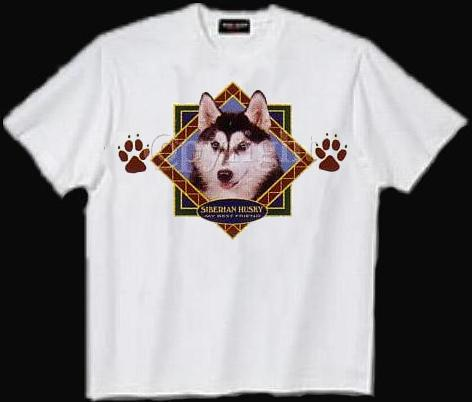 Siberian Husky - T Shirt - Diamond