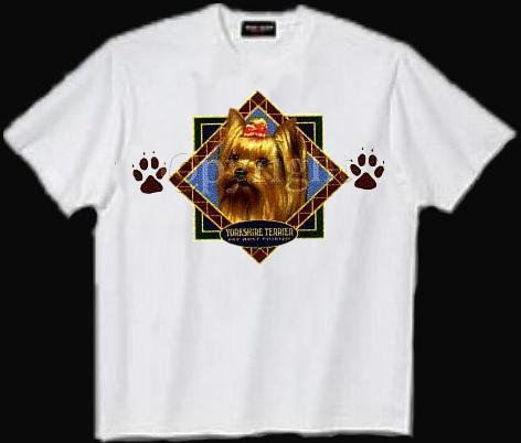 Yorkshire Terrier - T Shirt - Diamond