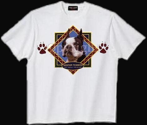 Boston Terrier - T Shirt - Diamond