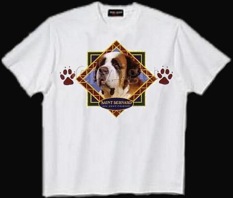 Saint Bernard - T Shirt - Diamond