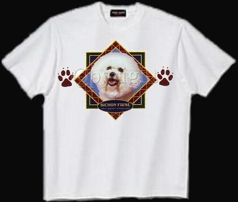 Bichon Frise - T Shirt - Diamond