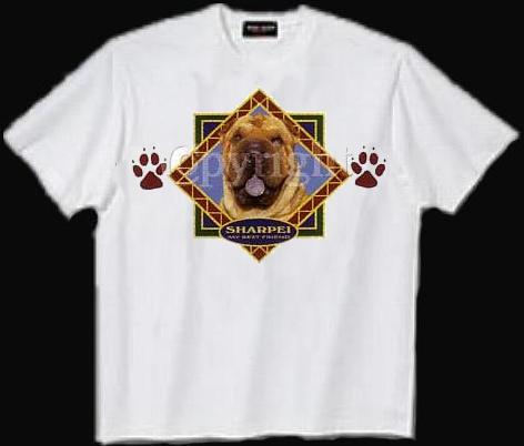 Chinese Shar-Pei - T Shirt - Diamond