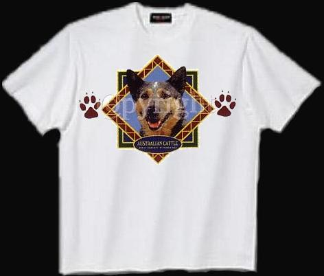 Australian Cattle Dog - T Shirt - Diamond
