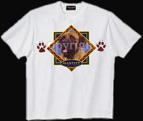 Mastiff, English - T Shirt - Diamond