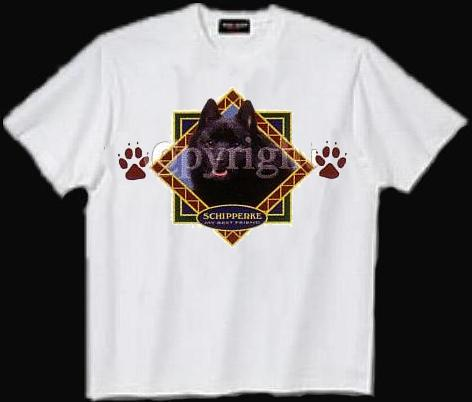 Schipperke - T Shirt - Diamond