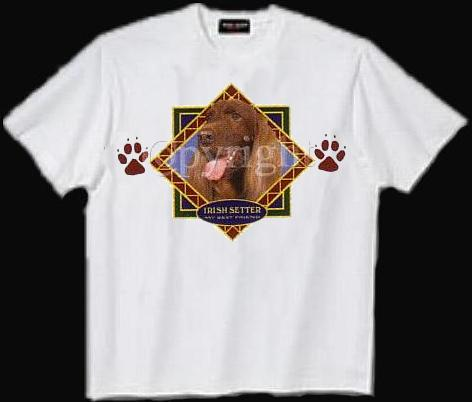 Irish Setter - T Shirt - Diamond