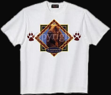 Bloodhound - T Shirt - Diamond