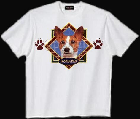 Basenji - T Shirt - Diamond