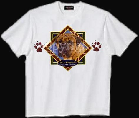 Bullmastiff - T Shirt - Diamond