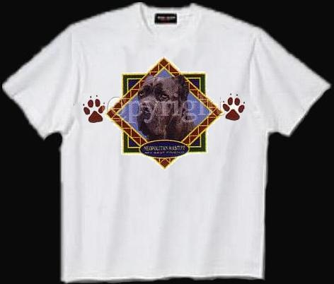 Mastiff, Neopolitan - T Shirt - Diamond