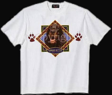 Gordon Setter - T Shirt - Diamond
