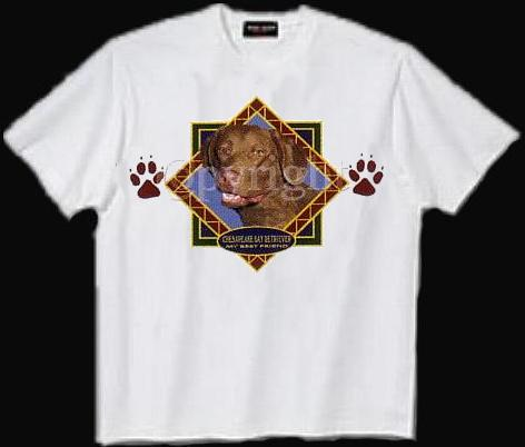 Chesapeake Bay Retriever - T Shirt - Diamond