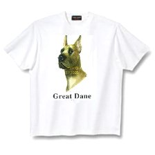 Great Dane, Cropped - T Shirt - Canine World