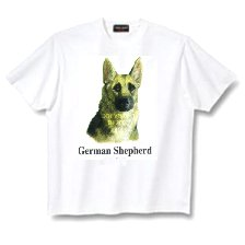 German Shepherd - T Shirt - Canine World