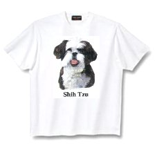 Shih Tzu, Black - T Shirt - Canine World