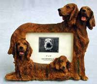 "Irish Setter - Dog Photo Frame 4"" x 6"""