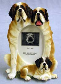 "Saint Bernard - Dog Photo Frame 3 1/2"" x 5"""