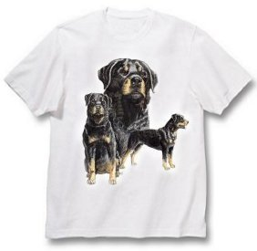 Rottweiler - T Shirt - Best Friends
